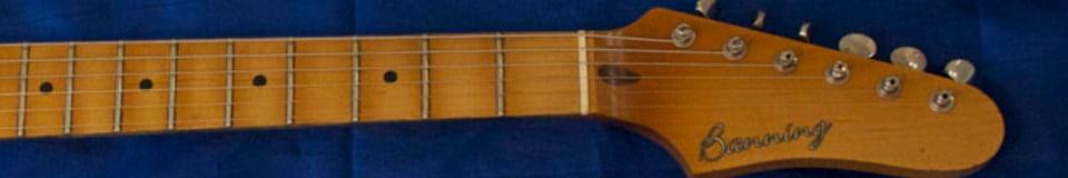 Banning Guitars Reverb Shop