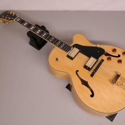 Oscar Schmidt OE40-N Hollowbody Electric Guitar Natural for sale