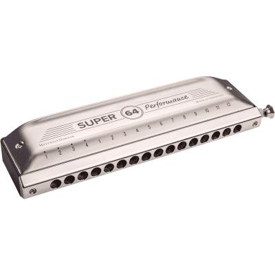 Hohner 7582/64 Super 64 Chromatic Harmonica