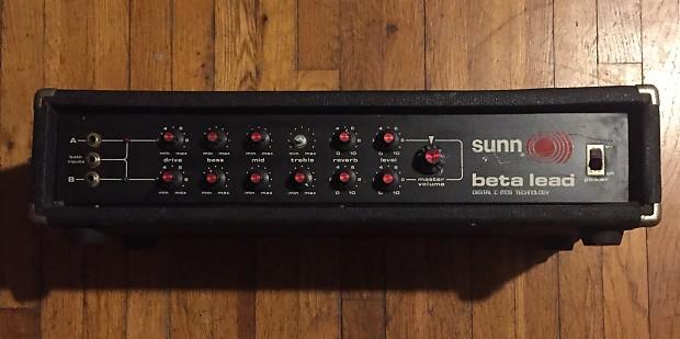 Sunn Beta Lead : vintage sunn beta lead 1970s already serviced reverb ~ Hamham.info Haus und Dekorationen