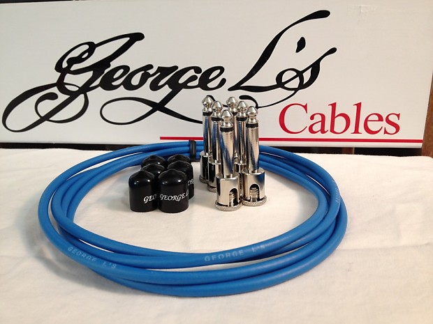 BLACK BRAND NEW AUTHORIZED DEALER George L/'s PEDALBOARD 155 EFFECTS CABLE KIT