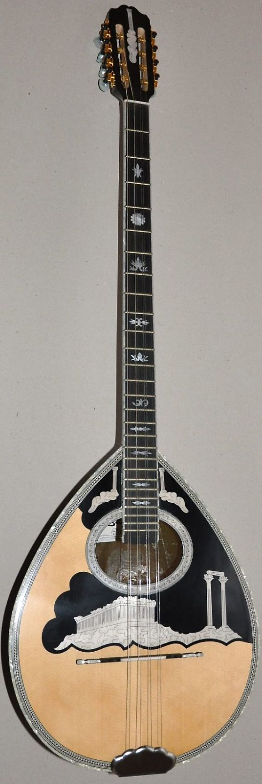 Matsikas 8-String Greek Bouzouki w/ Soft Case - Parthenon