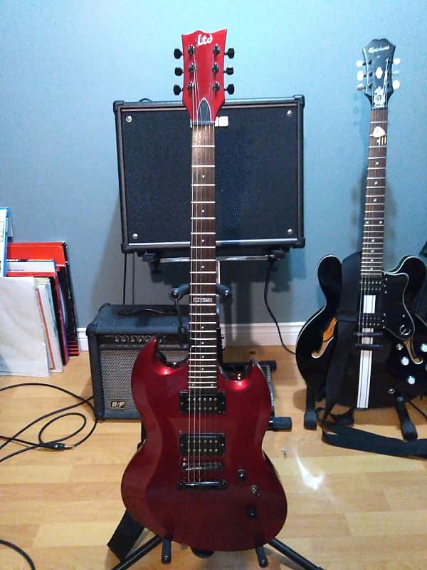 esp ltd viper 50 metallic red reverb. Black Bedroom Furniture Sets. Home Design Ideas