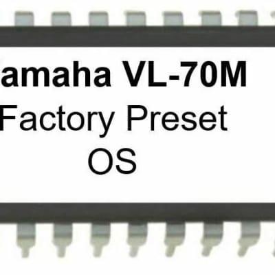 Yamaha VL-70m - Original Firmware EPROM Update OS for VL70m