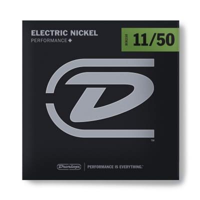 Dunlop PERFORMANCE+ ELECTRIC GUITAR STRINGS 11-50