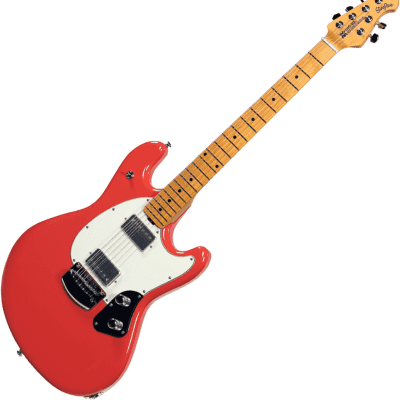 Ernie Ball Music Man Music Man - StingRay HH - Coral Red 2019 Coral Red