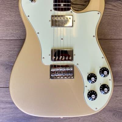 Fender Chris Shiflett Artist Series Signature Telecaster Deluxe Shoreline Gold