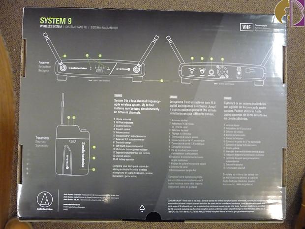 Audio-Technica System 9 ATW-901A/H Headworn Wireless Audio