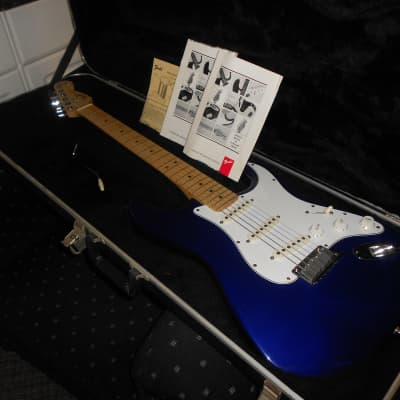Fender 40th Anniversary Stratocaster 1993/94 Midnight Blue for sale
