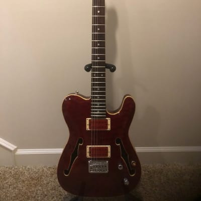 Jim Reed - Rico McFarland Signature Thinline T-Style Guitar for sale