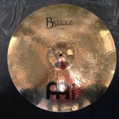 "Meinl 20"" Byzance Brilliant Heavy Ride Cymbal"