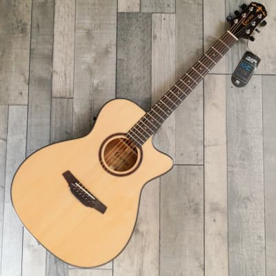 Crafter HT-500CE/N Orchestral Electro Cutaway Acoustic Guitar, Gloss Natural for sale