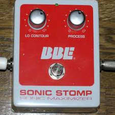 BBE Sonic Stomp Sonic Maximizer - Used 2000's - White with Red Label