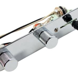 920D Custom Shop T4W-ACW-C 4-Way Tele Control Plate w/ Arlo Cocked Wah Wiring