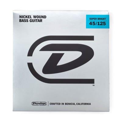 Dunlop Super Bright Bass 5-String Set | 45-125