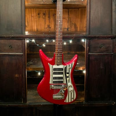 Teisco ET-460 Vintage 1960's Red for sale