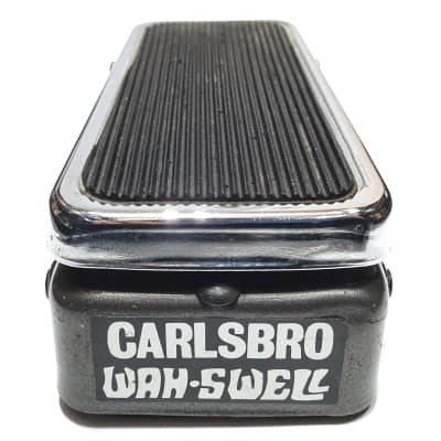 Vintage Carlsbro Wah Swell Original 1973 Colorsound Sola Sound Guital Pedal for sale