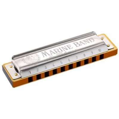 Hohner Marine Band Key of C# / Db Diatonic Harmonica
