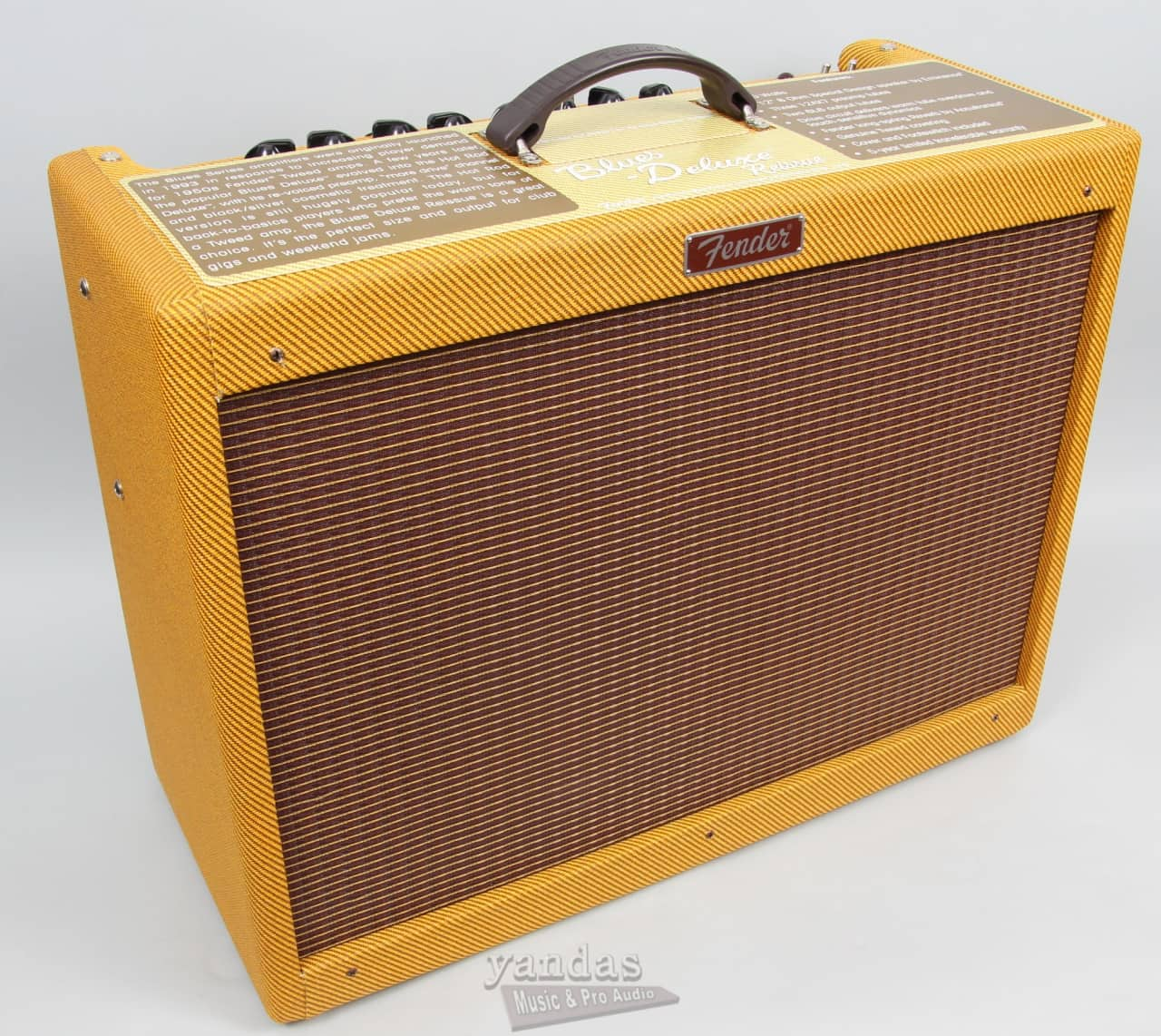 fender blues deluxe reissue electric guitar amplifier reverb. Black Bedroom Furniture Sets. Home Design Ideas