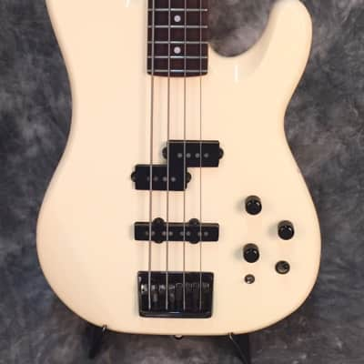 1987-1988 Fender Power Jazz Bass Special White - MIJ E-Series for sale