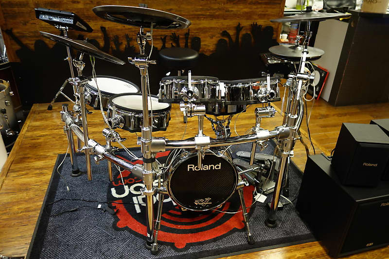 Roland Td 30kv Electronic Drum Kit Reverb