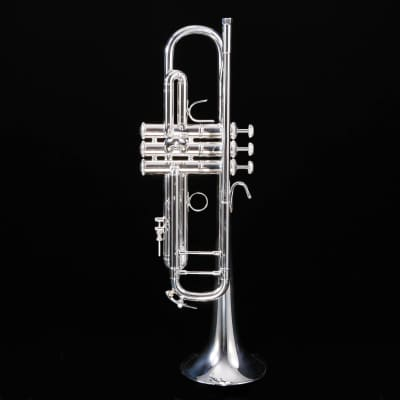 Bach 180S37 Stradivarius 180 Series Profess Bb Trumpet, #37 Bell, Silver Plated