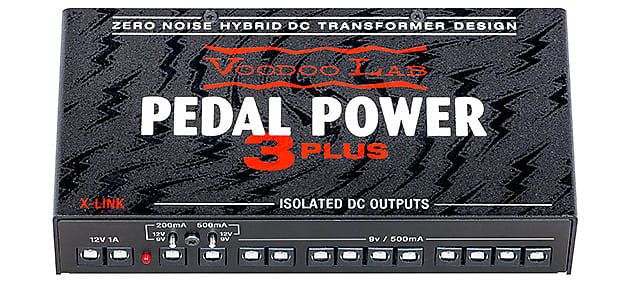 Voodoo Lab Pedal Power 3 PLUS 12-Output Isolated Effects Pedal Power Supply