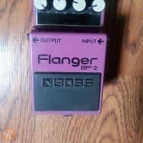Boss BF-2 Flanger 1990s Purple image