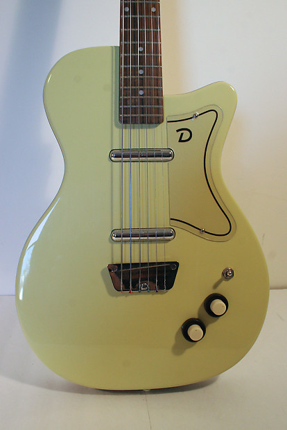Drums For Sale >> Danelectro 56-U2 Daddy-O Yellow First Reissue | Reverb