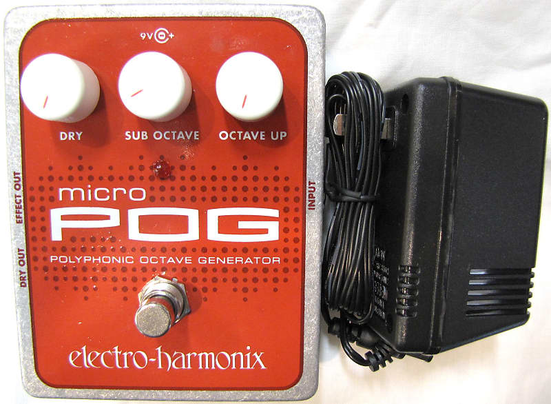 ehx electro harmonix micro pog guitar pedal reverb. Black Bedroom Furniture Sets. Home Design Ideas