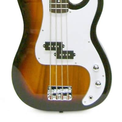Crestwood Bass Guitar 4 String Sunburst P-Style for sale