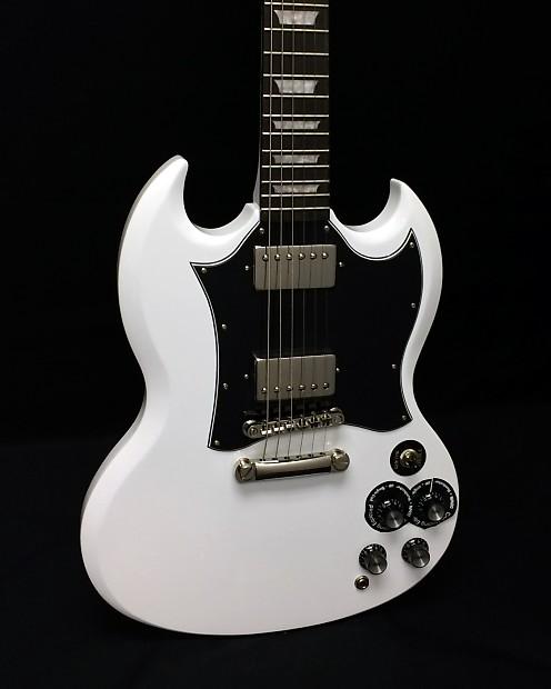 epiphone 1966 g 400 pro sg ltd ed electric guitar alpine reverb. Black Bedroom Furniture Sets. Home Design Ideas