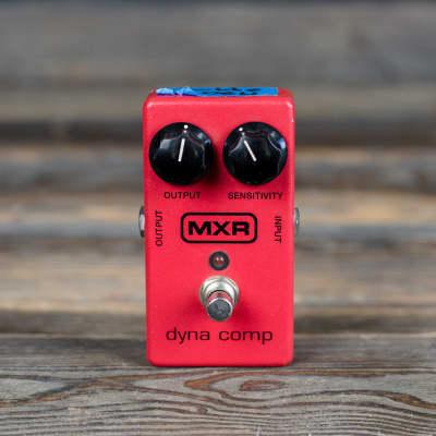 MXR Dyna Comp Block Logo 1980