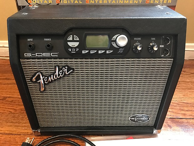 Fender G-DEC Amplifier Driver Download