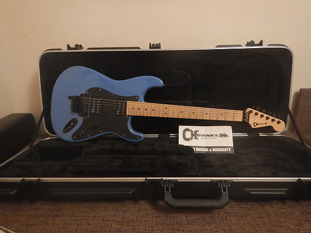 Charvel So Cal MIJ 2011 Candy Blue | Buddy Pumba's Guitars