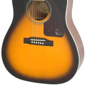 Epiphone AJ-220SCE Acoustic Electric Guitar - Vintage Sunburst for sale
