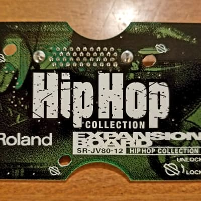 Roland SR-JV80-12 Hip Hop Expansion Card for JV, JD, and XP Series Synths