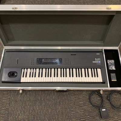 Korg M1 61-Key Synth Music Workstation With ATA Case