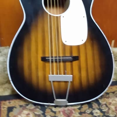DOMINO PARLOR GUITAR early 1960's STELLA/KAY/HARMONY for sale