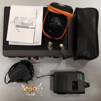 JTS SIEM2T/SIEM2R+IE1 In ear monitor wireless system