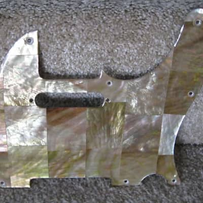 Brown Mother of Pearl Pick Guard for sale