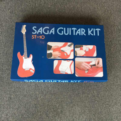 Saga S-Style Electric Guitar Kit for sale