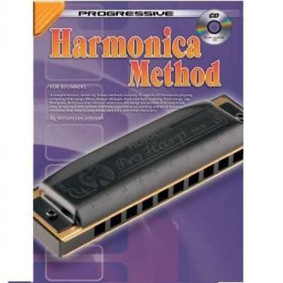 Progressive Harmonica Method for Beginners (w/ CD)