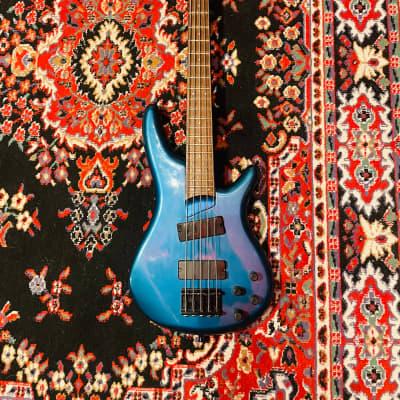 1991 Ibanez SR885 w/ EMG's MIJ Metallic Blue for sale
