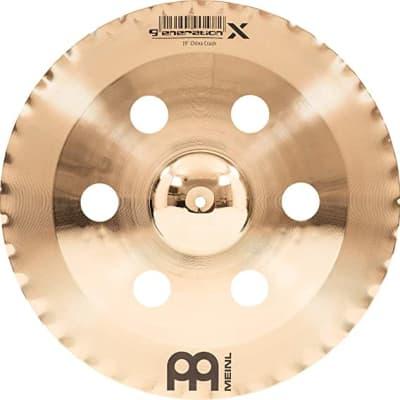 """Meinl 19"""" Generation X China Crash Cymbal"""