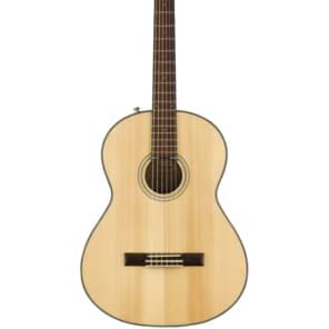 Fender CN-60S Natural Solid Top Nylon Acoustic Guitar for sale