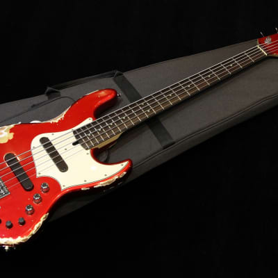 Xotic XJ-1T 5st Heavy Aged Lacquer #1989 2020 Dark Candy Apple Red for sale