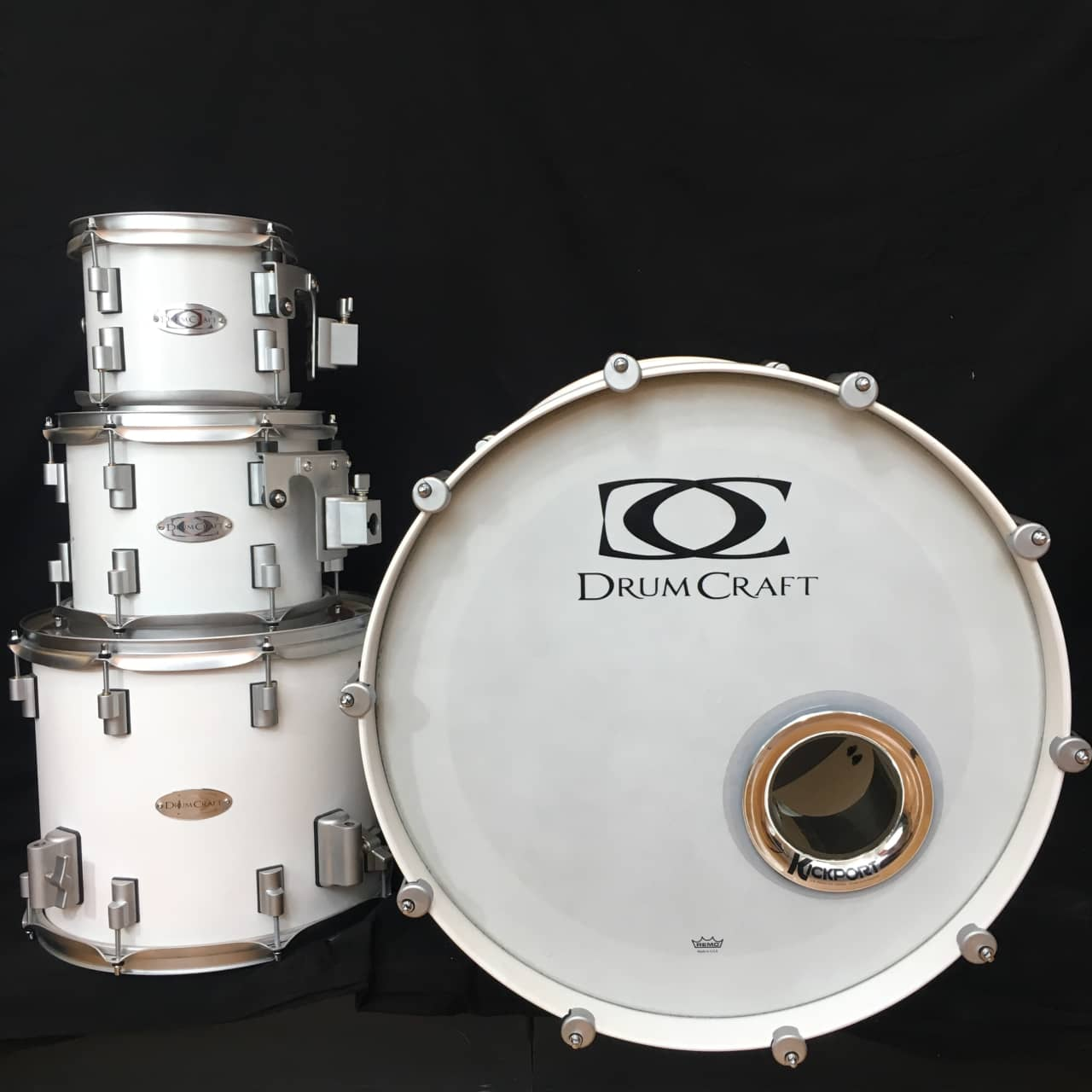Drumcraft series 8 4 piece drum kit reverb for 18 inch floor tom for sale