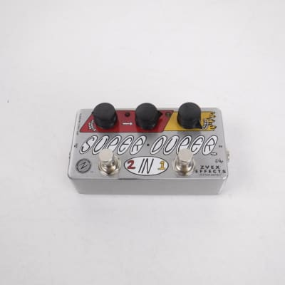 Used Zvex SUPER DUPER 2 IN 1 Guitar Effects Distortion/Overdrive