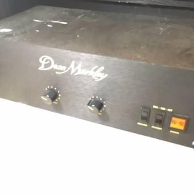 Dean Markley RM 100 MT 1980's Black Rackmount 100 Watt Guitar Power Amp for sale